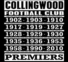 CFC Premiership Years by LOREDANA CRUPI