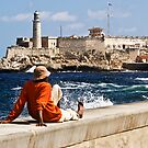 Castillo del Morro from the Malecon by Yukondick
