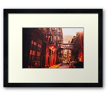 New York City Street Framed Print