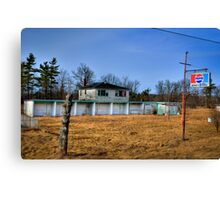Midway Motel Canvas Print