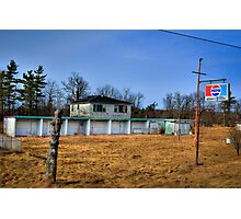 Midway Motel Photographic Print