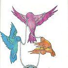 Cinderella Birds by kellaybaybay