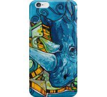 South African Rhino Graffiti iPhone Case/Skin
