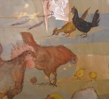 No Body Here But Us Chickens by Kay Hale
