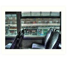 The Bus Home Art Print