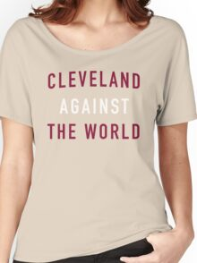 Cleveland Against the World - Cavs Yellow Women's Relaxed Fit T-Shirt