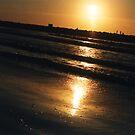 Sunset in the Mediterranean Sea by ASSA