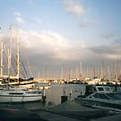 Boats in the dockland of Limassol - Cyprus by ASSA