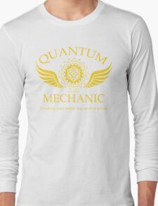 QUANTUM MECHANIC Long Sleeve T-Shirt
