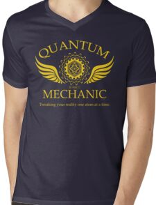 QUANTUM MECHANIC Mens V-Neck T-Shirt
