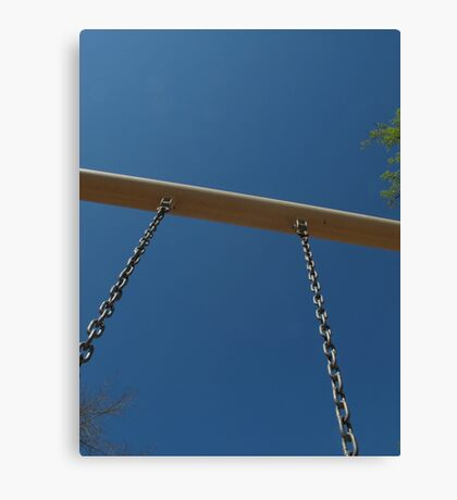 Swing as High as You Can  Canvas Print