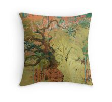 """Endless Forest"" Throw Pillow"