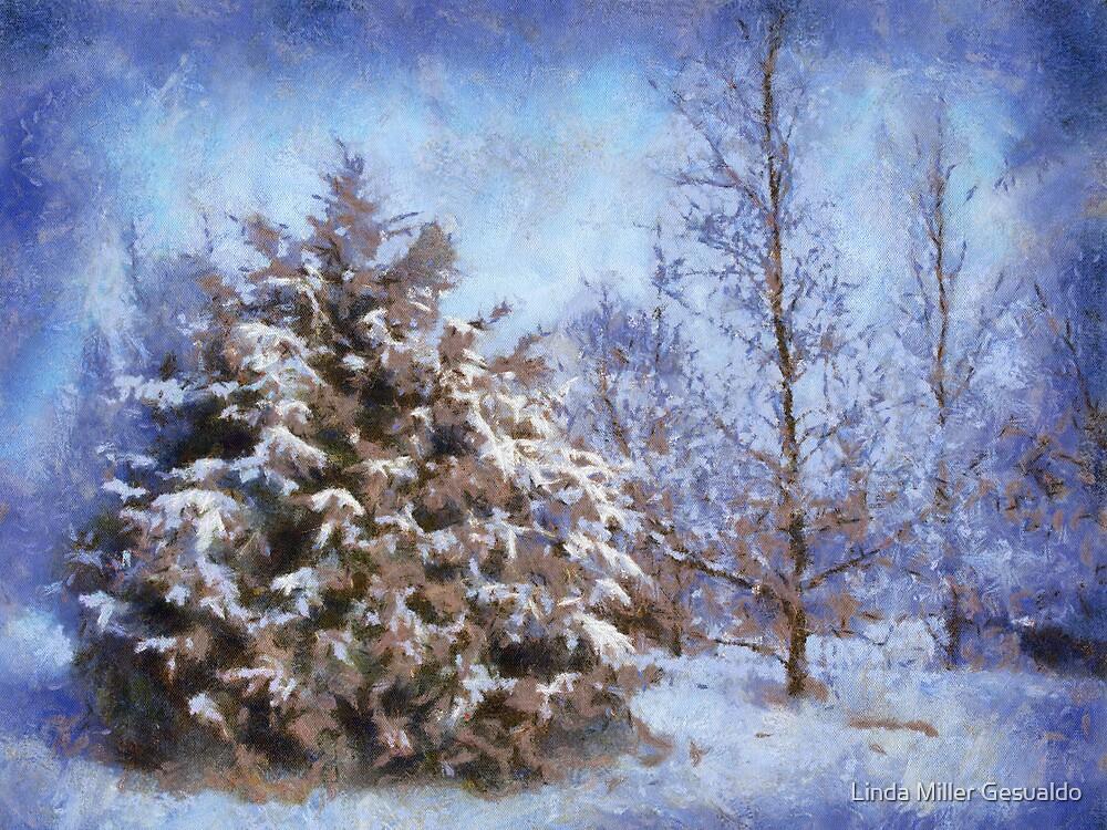 Winter Blues by Linda Miller Gesualdo