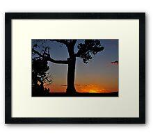 Living On the Overlook Framed Print
