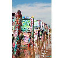 Cadillac Ranch, Amarillo, TX Photographic Print