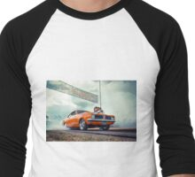 DIZYHG Burnout Men's Baseball ¾ T-Shirt