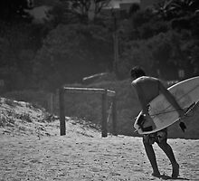 Lone Surfer by Natasha Crofts