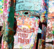 Cadillac Ranch, Amarillo, Texas Sticker