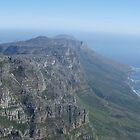 Capetown Mountain Range by Steven Conrad