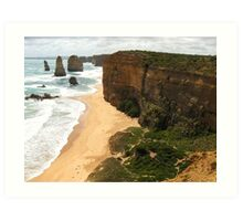 Ocean Cliffs Australia Art Print