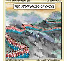 Great Waldo Of China Photographic Print