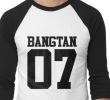 BTS/Bangtan Boys Jersey Style w/Number Men's Baseball ¾ T-Shirt
