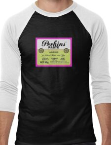 Paste with Perkins Men's Baseball ¾ T-Shirt
