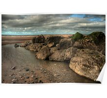 Cleveleys Rock Pool Poster