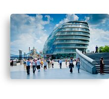 City Hall: London, UK. Canvas Print