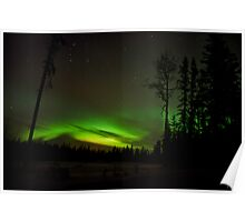 First Auroras with Nikon D7000 Poster