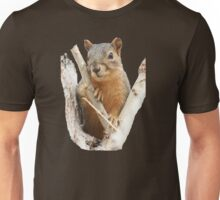 Squirrel in a Cottonwood Unisex T-Shirt
