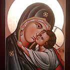 Mother of God by Blagojce Petrovski