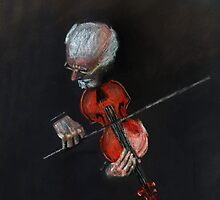 Violin Virtuoso by arline wagner