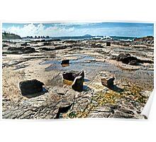 Rock Pools. Poster