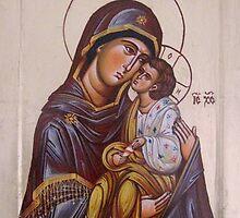 Mother of God 1 by Blagojce Petrovski