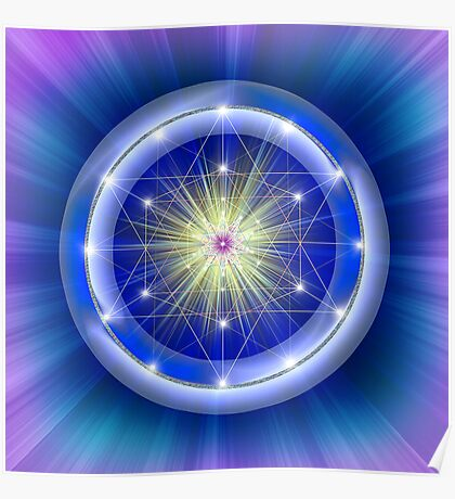 Sacred Geometry 31 Poster