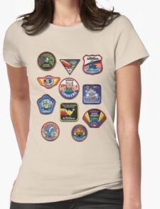 Patch Me Womens Fitted T-Shirt
