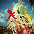 plastic joy, phnom penh, cambodia by tiro