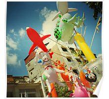 plastic joy, phnom penh, cambodia Poster