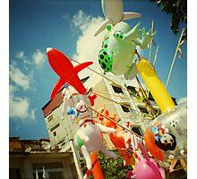 plastic joy, phnom penh, cambodia Photographic Print