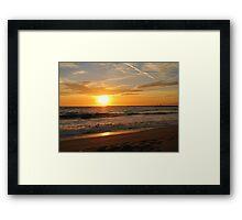 Sunset - Playa del Rey Framed Print