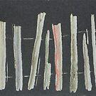 Boundaries (print  ,coloured) by Redviolin