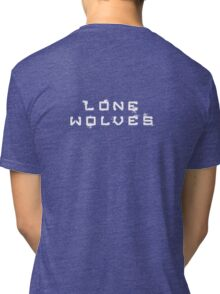 Lone Wolves logo Tri-blend T-Shirt