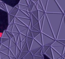Geometric Rhinos Sticker