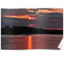 Sunset Tranquility Poster