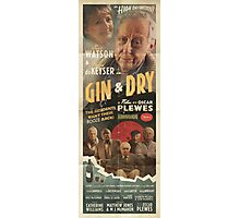 GIN & DRY - Romance Poster Photographic Print