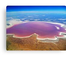 Lake Eyre - Aerial View Canvas Print