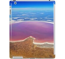 Lake Eyre - Aerial View iPad Case/Skin