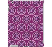 Purple  Mandala Design iPad Case/Skin