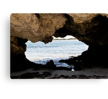 Australia- Looking thru the continent Canvas Print